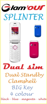 Glam'our SPLINTER, il dual sim come pochi